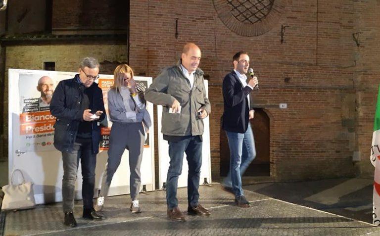 Nicola Zingaretti a Città della Pieve