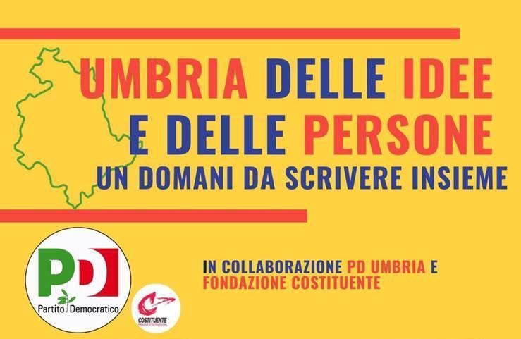 Zingaretti all'Umbria delle idee e delle persone