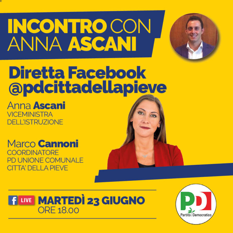 Video dell'incontro con Anna Ascani