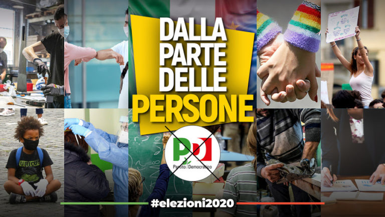 Elezioni regionali: dalla parte delle Persone.