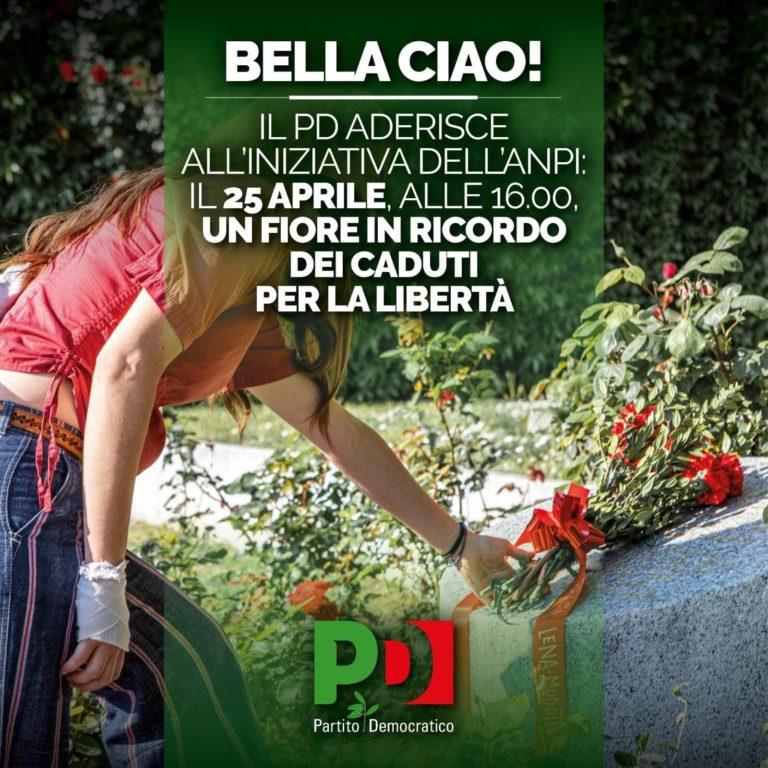 Un fiore in ricordo dei caduti per la libertà. Aderiamo all'iniziativa dell'Anpi