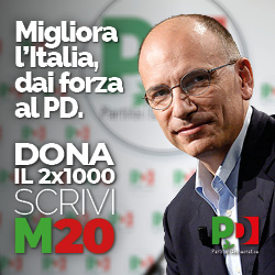 Con la tua firma il PD migliora l'Italia