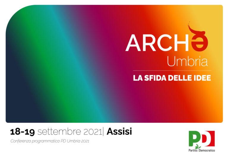 Archè: 18-19/9 la Conferenza programmatica del Pd Umbria